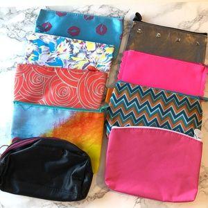 Ipsy Makeup Bag Pouch Bundle